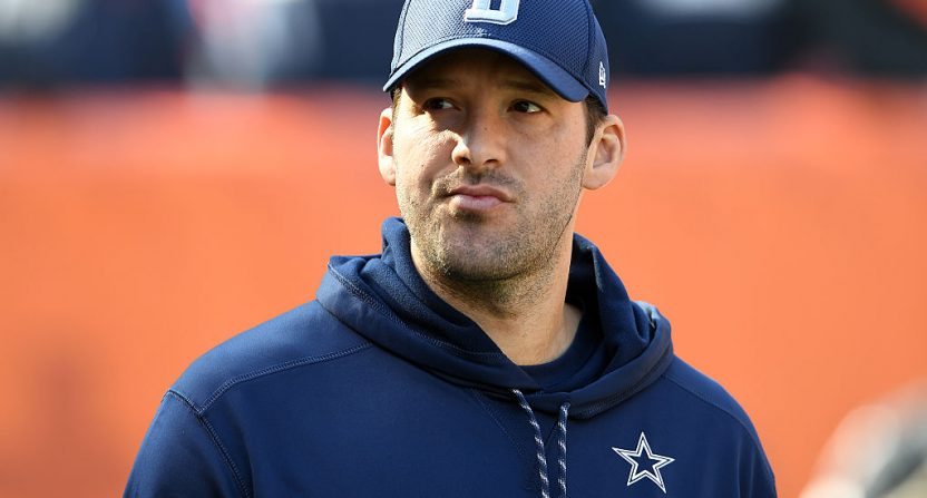 Tony Romo is conflicted over National Football League retirement life