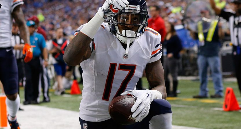 Alshon Jeffery sought advice from Adam Schefter before signing with the Eagles