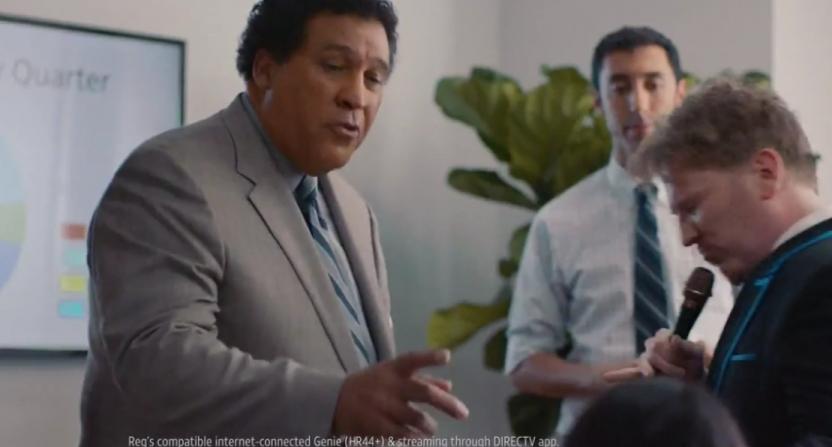 Greg Gumbel AT&T ad