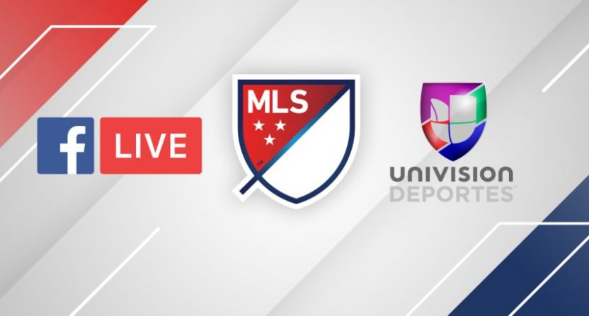 Facebook enters live-stream deal with MLS