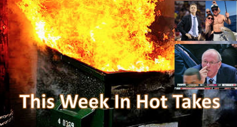 This Week In Hot Takes for March 10-16.