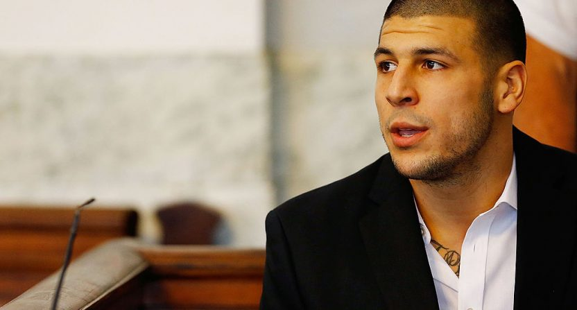 Aaron Hernandez's Family Wants to Donate His Brain for Study