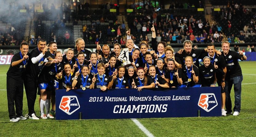 The 2015 NWSL championship.