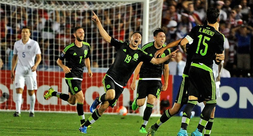Image result for Mexico soccer team 2017