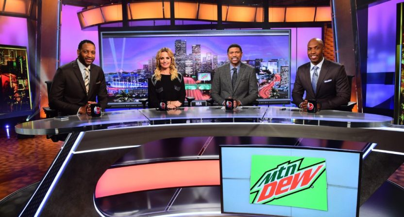 Michelle Beadle on NBA Countdown.