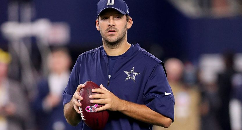Former Cowboys QB Romo fails in bid to qualify for US Open