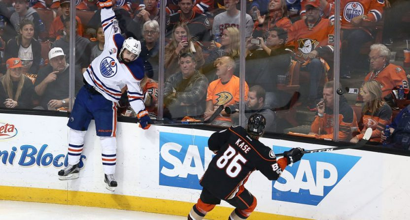 Oilers Ducks American ratings