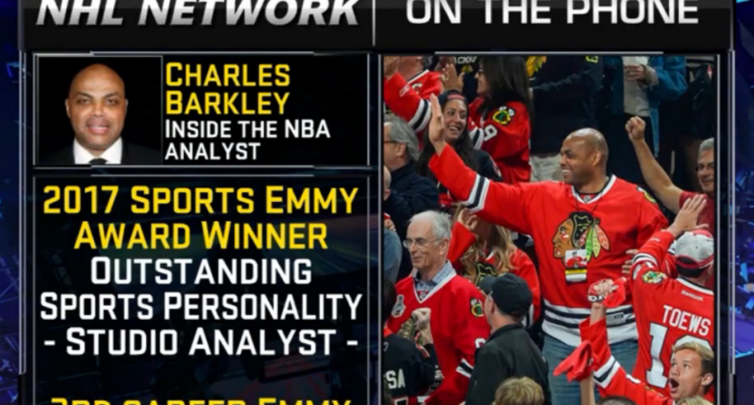 Charles Barkley NHL Network