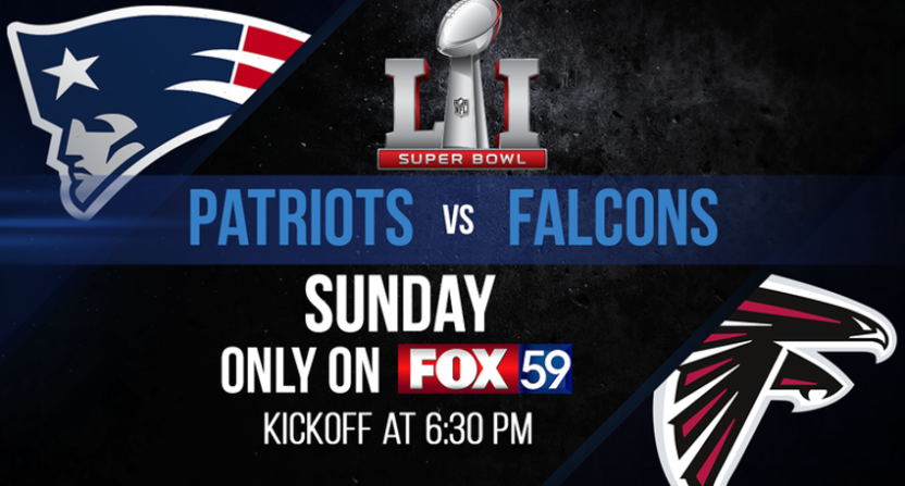 Fox Super Bowl graphic live sports ratings