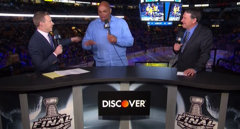 Charles Barkley NHL on NBC