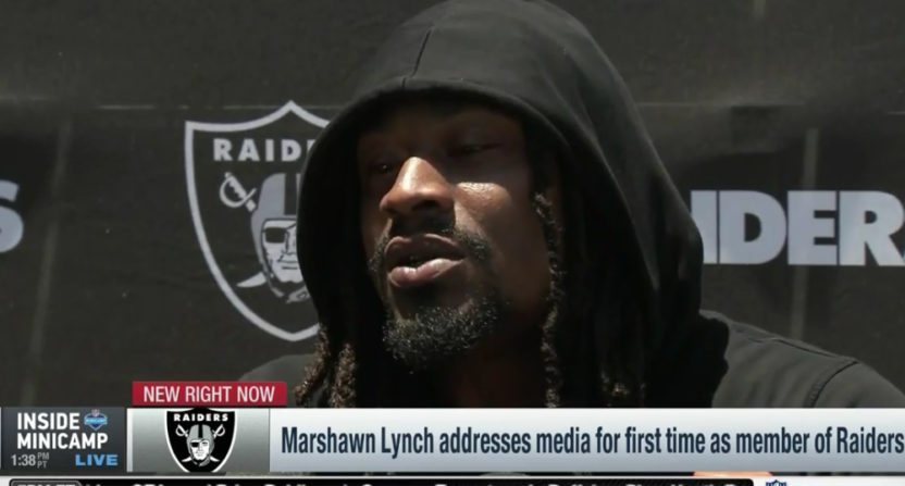 Bleacher reports facebook video series with marshawn lynch is new marshawn lynch malvernweather Gallery