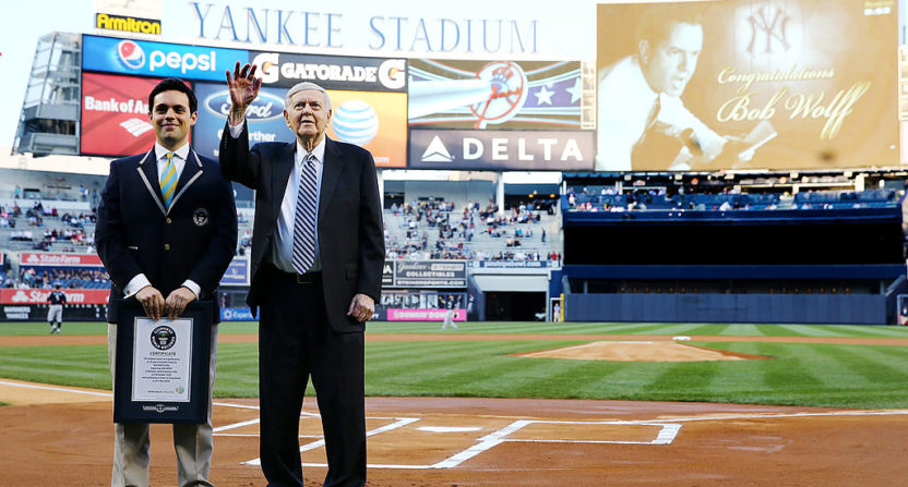 NY sports broadcast icon Bob Wolff dies at age 96
