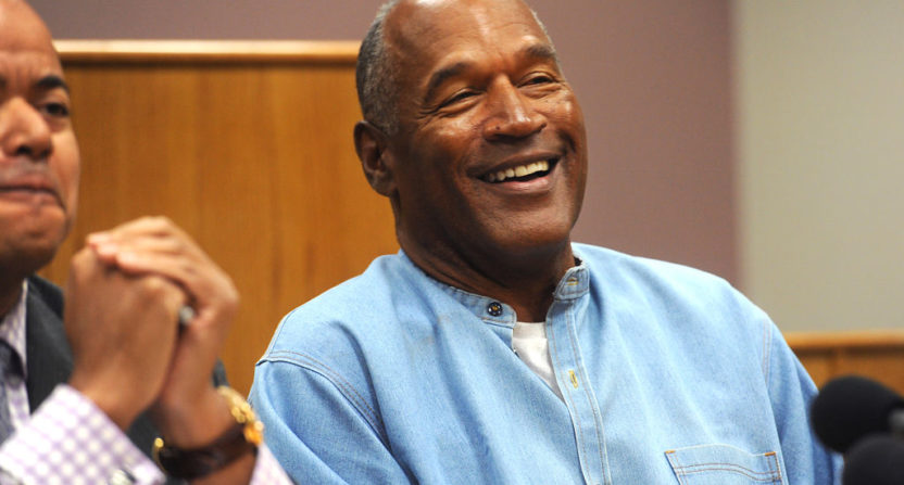 OJ Simpson granted parole, could be out in October
