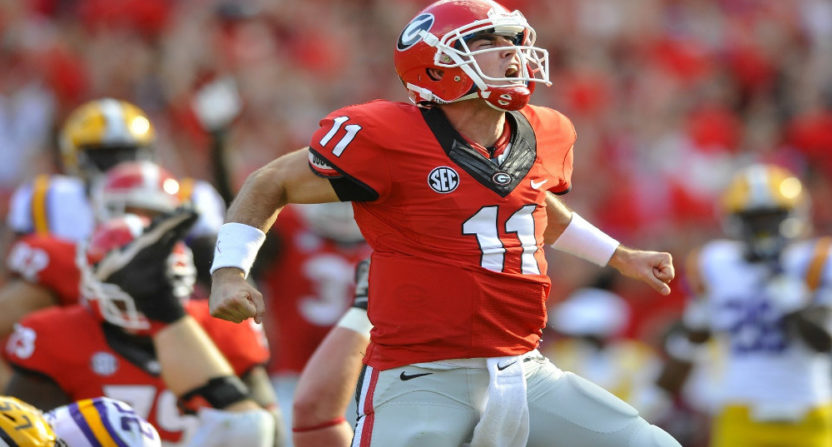 Aaron Murray is going to be a game analyst for CBSSN this fall.