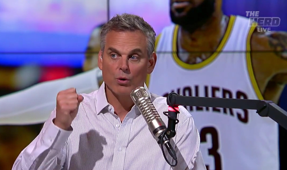 On The Herd Friday, Colin Cowherd decided to talk about FS1 beating ESPN2.