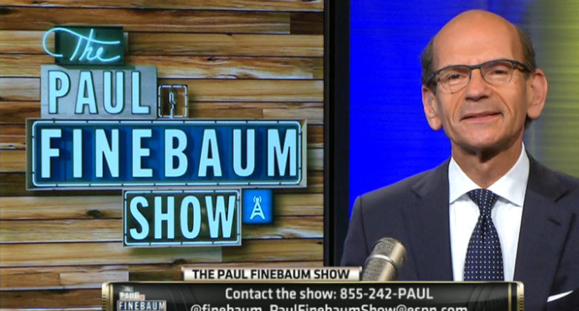 The Paul Finebaum Show will air an ESPN2-exclusive hour starting in August.
