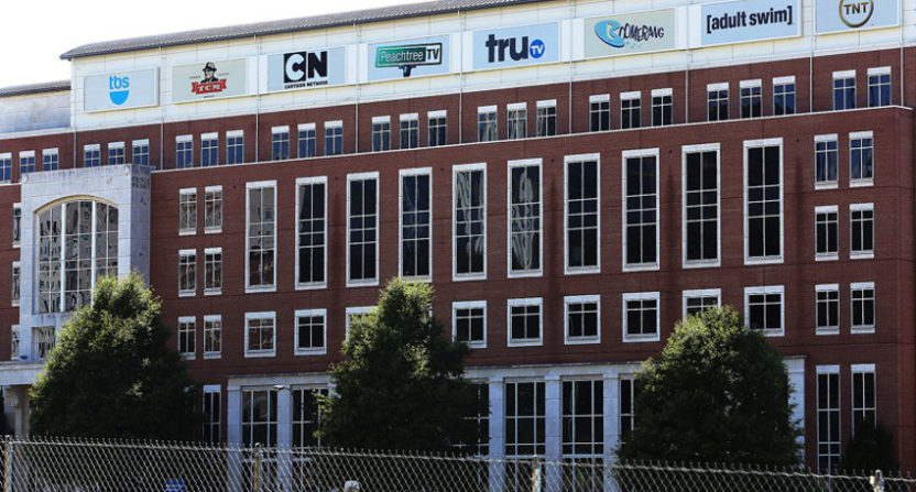 Turner Broadcasting's headquarters in Atlanta.