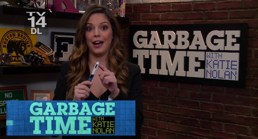 Katie Nolan's Garbage Time is no more.