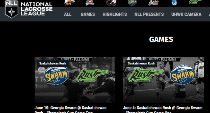 Streaming service NLL.TV is one of the many ways for smaller leagues to take advantage of OTT distribution.