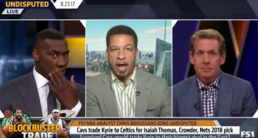"""Chris Broussard's """"sources"""" say Isaiah Thomas wasn't liked by teammates in Boston."""