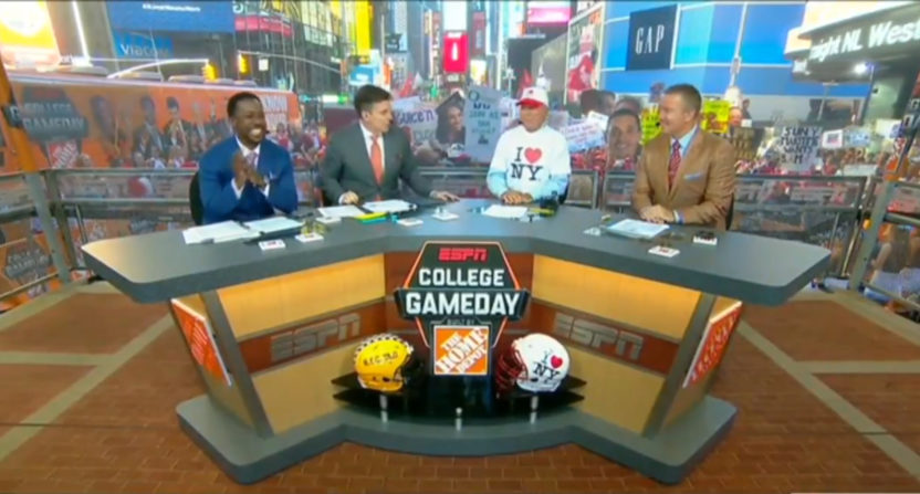 College GameDay in NYC