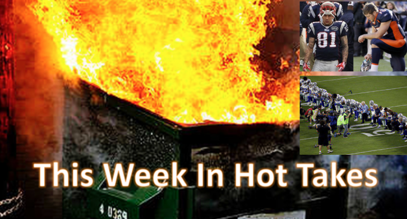 This Week In Hot Takes for Sept. 22-29.