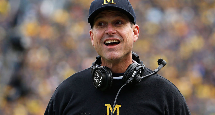 jim harbaugh-michigan wolverines-amazon prime