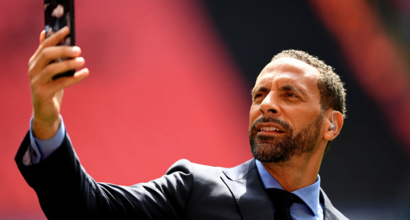 Rio Ferdinand's new book is written by ghostwriter Decca Aitkenhead.