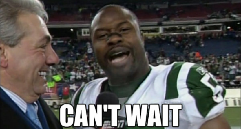 Bart Scott Can't Wait