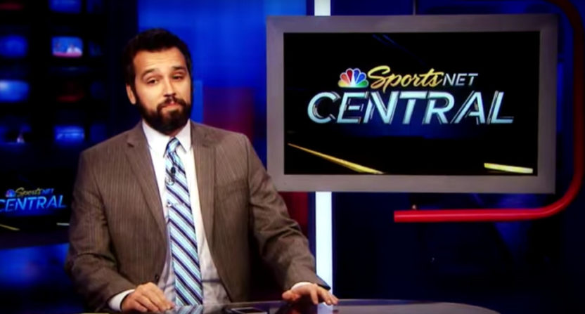 NBC Sports Bay Area's Ahmed Fareed will be hosting for NBCSN during the 2018 Olympics.