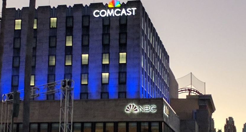 Comcast And Nbc Buildings In New York