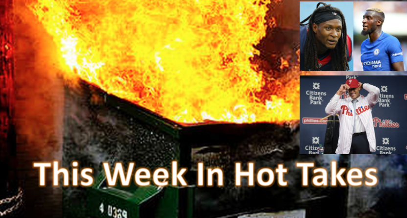 This Week In Hot Takes was led by Howard Eskin.
