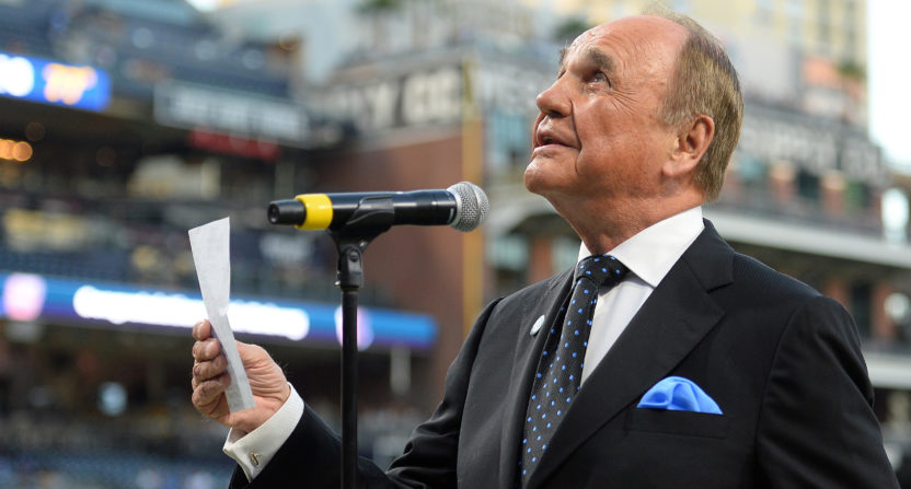 Hall of Fame broadcaster Dick Enberg dead at 82
