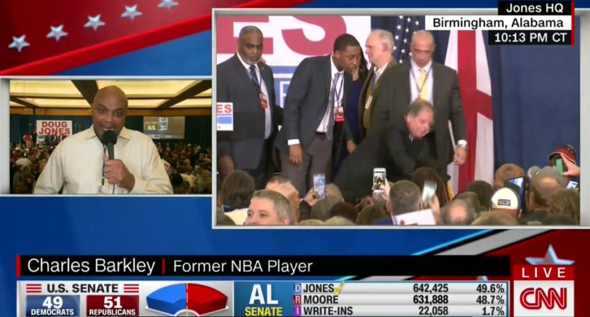 Charles Barkley on CNN.