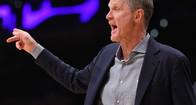 Steve Kerr laments coverage of LaVar Ball, the 'Kardashian of the NBA'