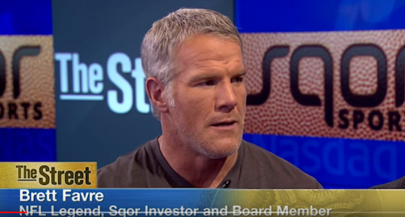 Brett Favre sued for $16 million over failed social media company