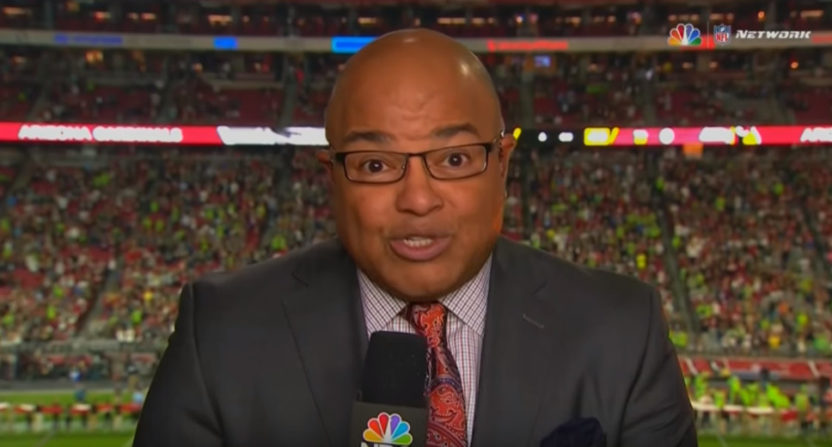 Mike Tirico on Thursday Night Football.