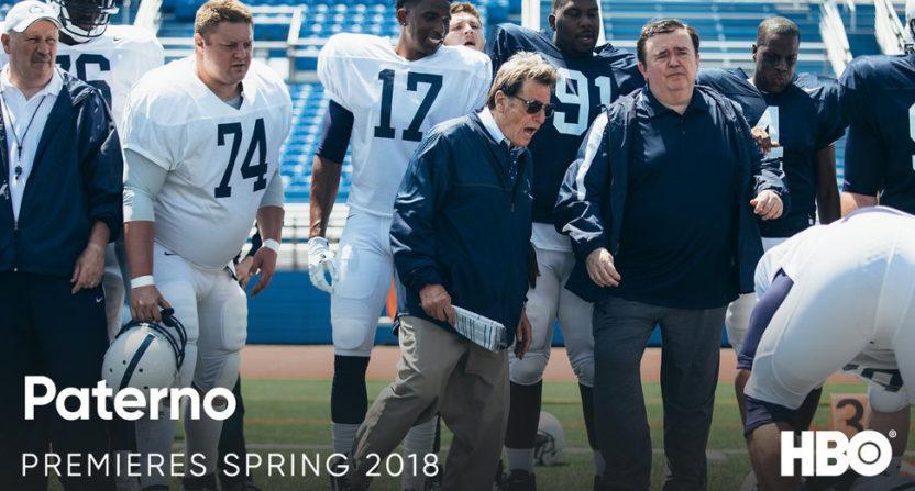 A look at HBO's upcoming Joe Paterno biopic..