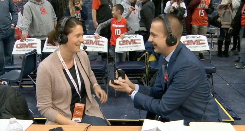 mike couzens espn marriage proposal