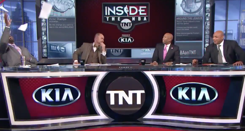 inside the nba-charles barkley-shaquille o'neal