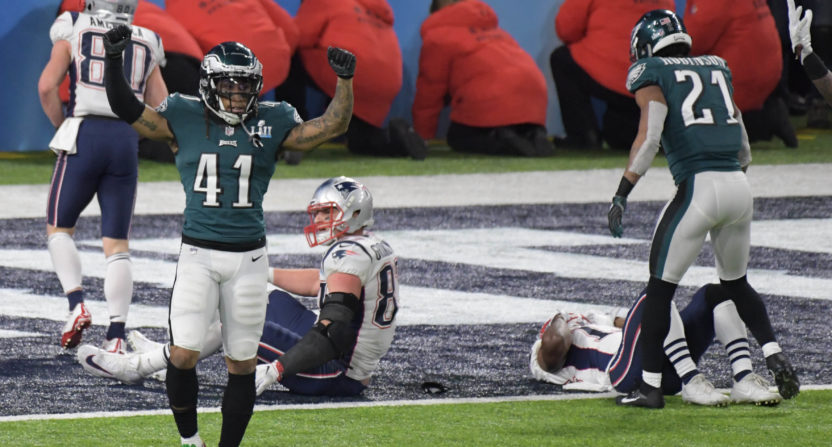 Graham's strip-sack of Brady hands Super Bowl to Eagles