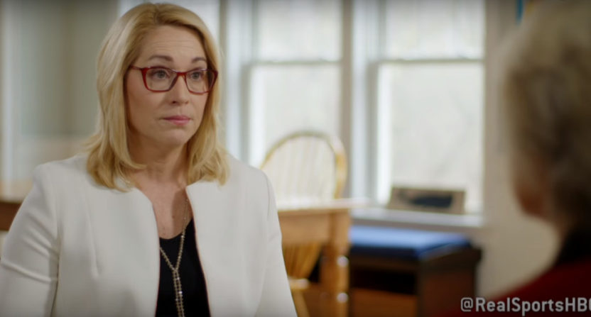 Doris Burke on HBO's Real Sports with Bryant Gumbel.