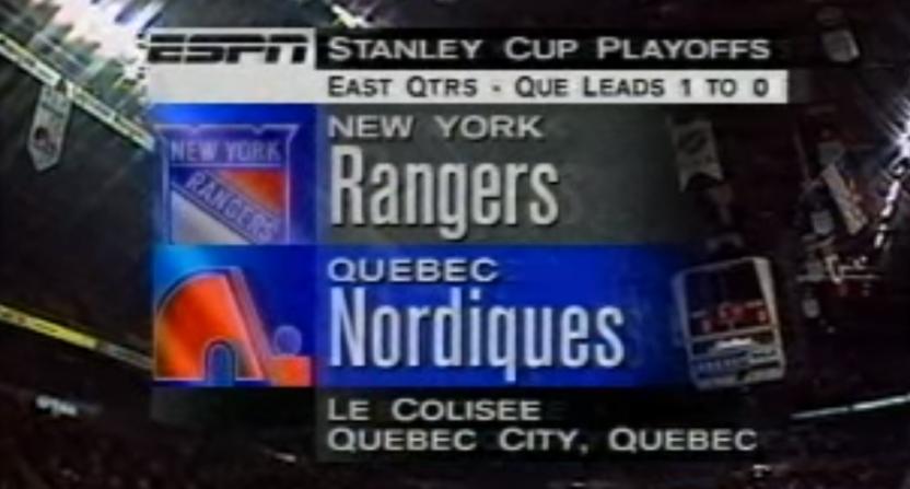 ESPN's 1995 hockey graphics.