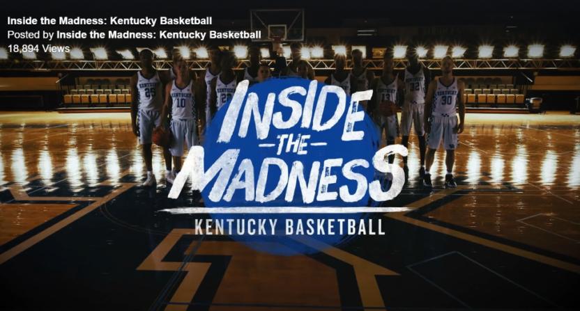 Inside The Madness: Kentucky Basketball.