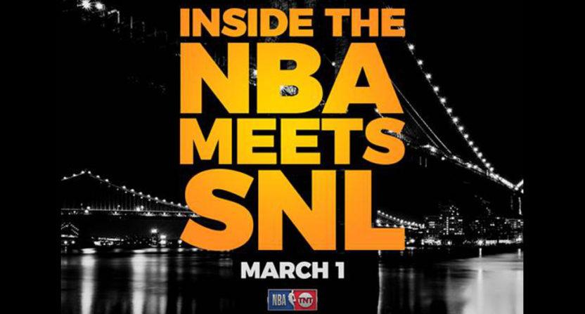 Inside The NBA meets SNL.