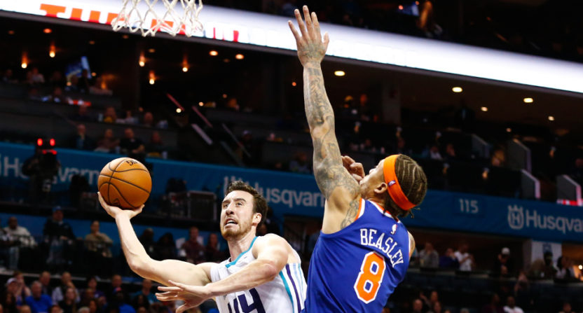 The Knicks and Hornets might be more interesting under a play-in tournament format.