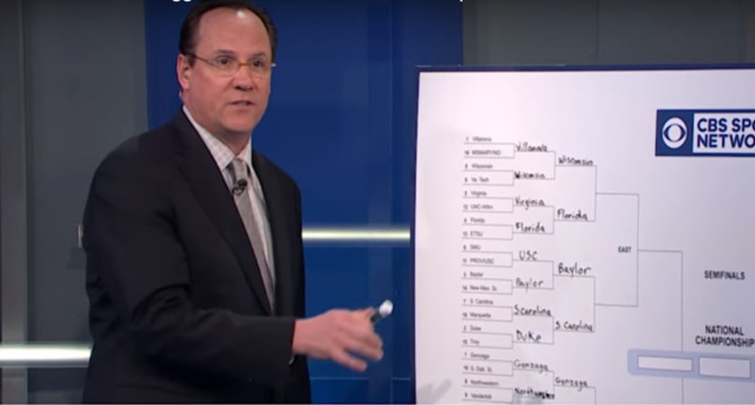 Gregg Marshall on CBS Sports Network in 2017.