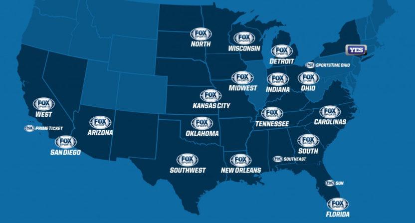 Fox regional sports networks.