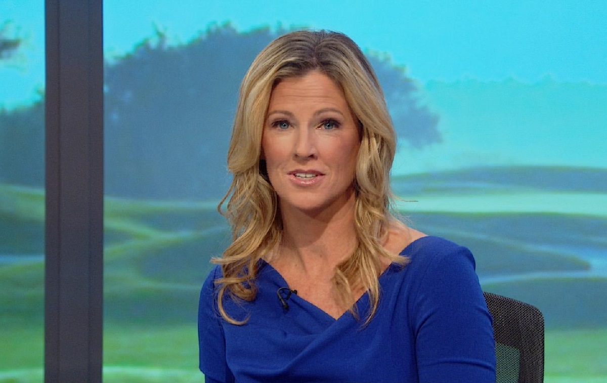 kelly tilghman announces this is her final week at golf