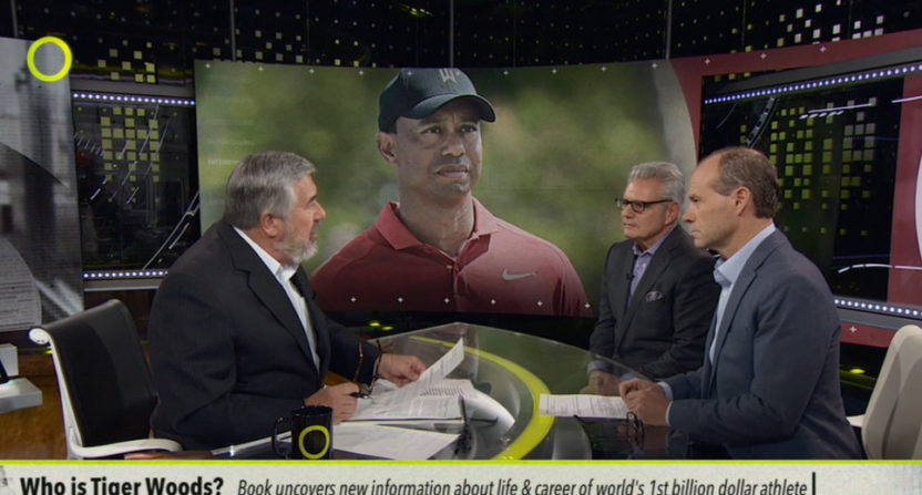 Armen Keteyian and Jeff Benedict discuss Tiger Woods with Bob Ley on Outside The Lines.